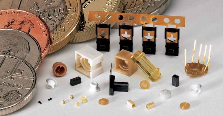 micro-molded parts for miniaturization