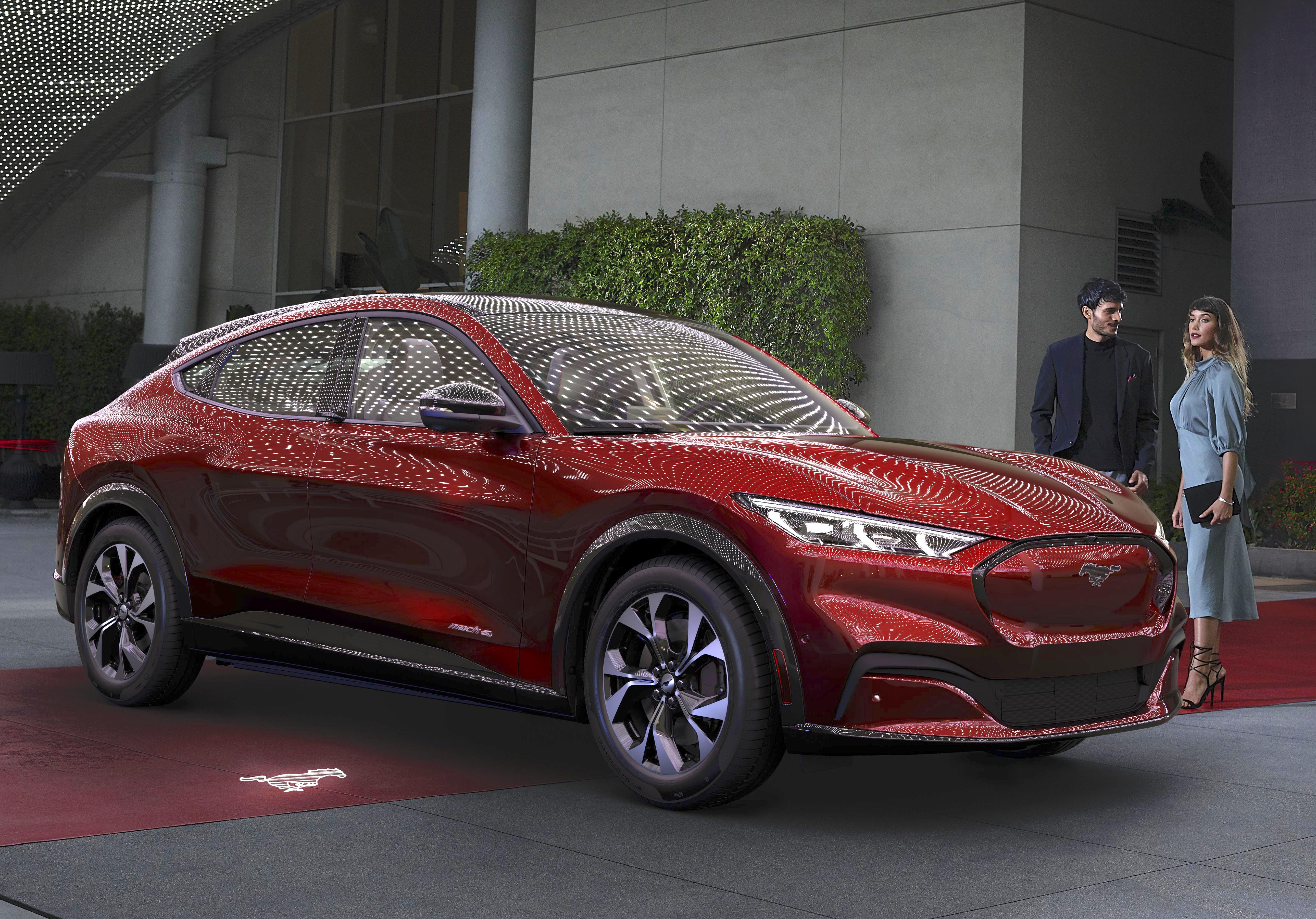 Ford Unveils Battery Electric Mustang Mach E Crossover Suv Designnews Com