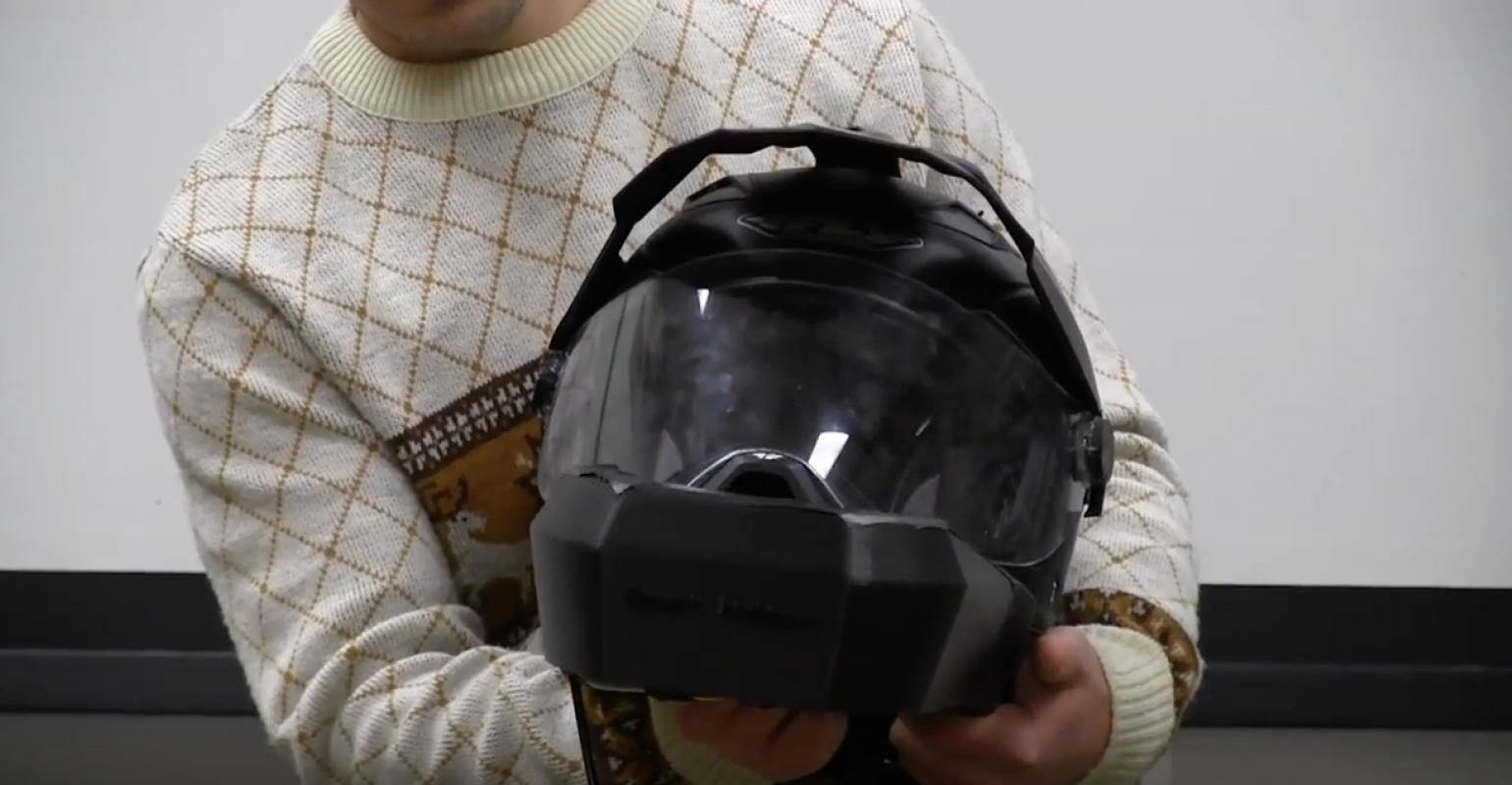 Protect Your Smarts Build A Smart Motorcycle Helmet Designnews Com