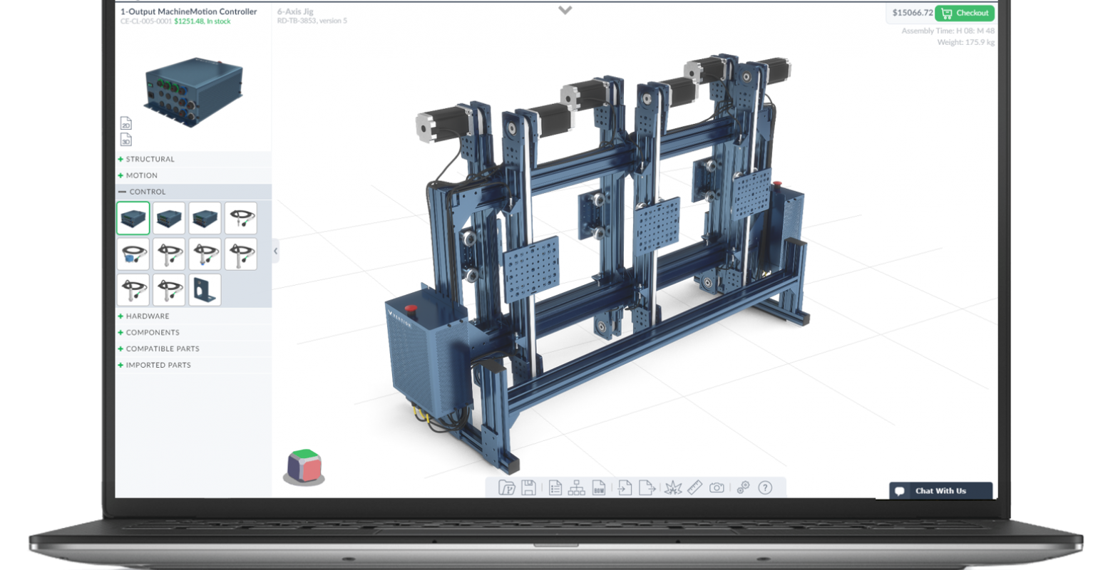 Meet 3d Machinebuilder A Web Based Platform For Speeding Custom Machi Designnews Com