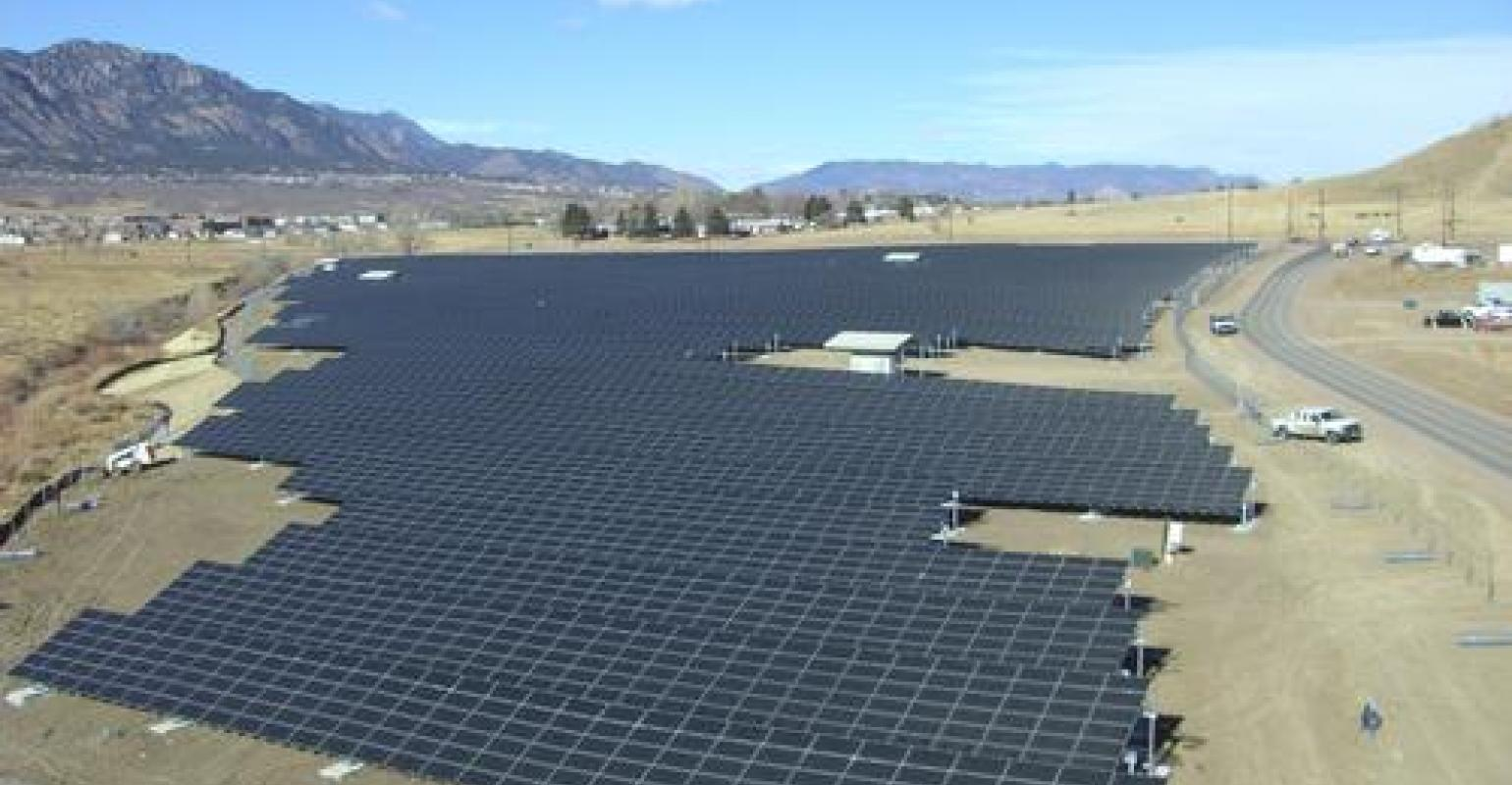 Us Army Goes Green With Solar Energy Designnews Com