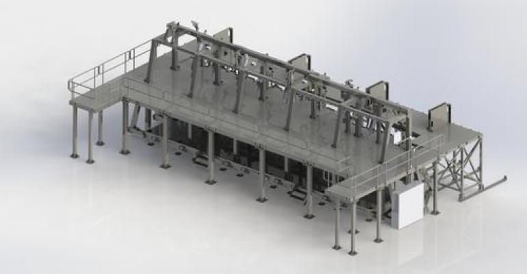 Integrated Motion Platform Speeds Fuselage Positioning
