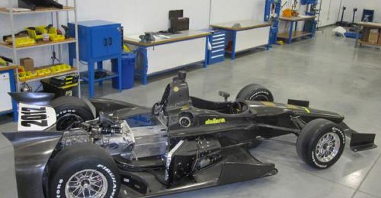 IndyCar Structure Is the Ultimate Safety Enclosure