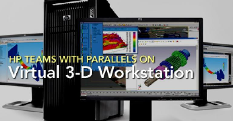 HP Teams with Parallels on Virtual 3-D Workstation