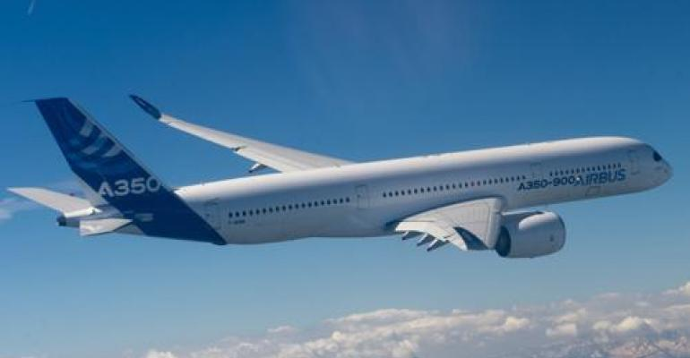Video: Composite-Rich Airbus 350 Makes First Flight