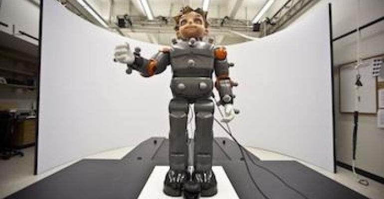 Video: Humanoid Robot Used to Treat Autism