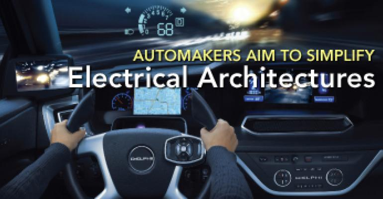 Automakers Aim to Simplify Electrical Architectures
