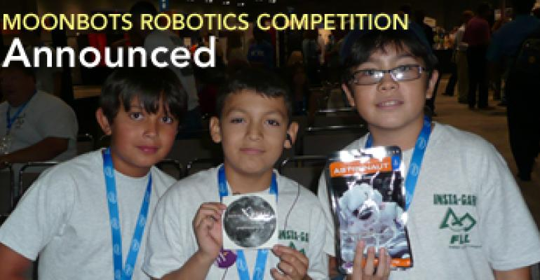 MoonBots Robotics Competition Announced