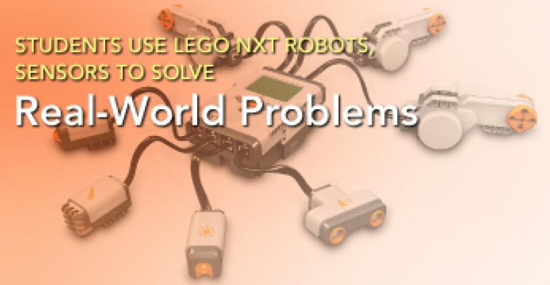 Students Use LEGO NXT Robots, Sensors to Solve Real-World Problems