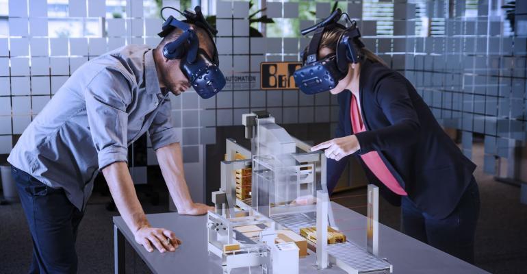 digital twin, VR, AR headsets, machine developers, B&R