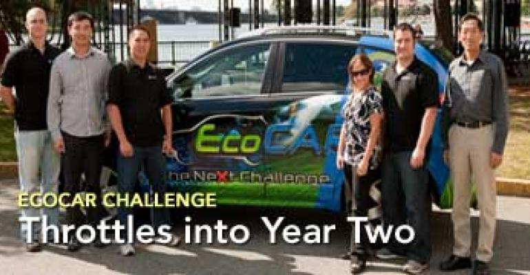 EcoCAR Challenge Throttles into Year Two