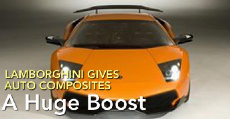 Lamborghini Gives Auto Composites a Huge Boost