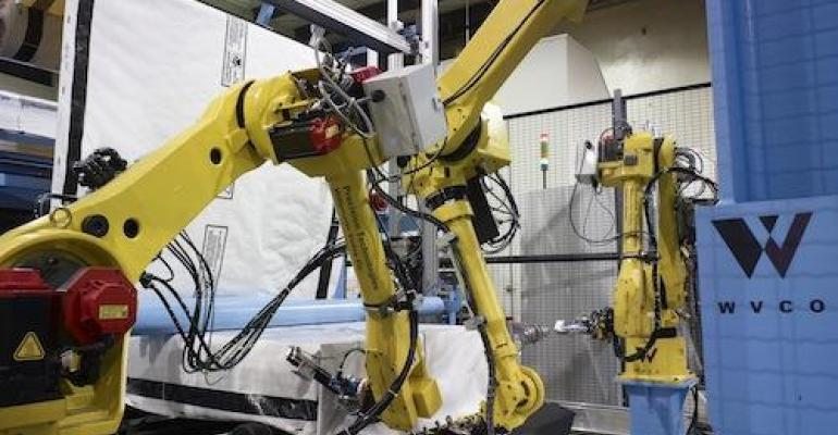 Robots Promote Safety & Productivity in Wood Industry Apps