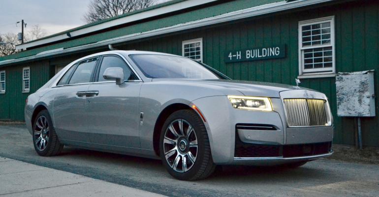 2021 Rolls Royce Ghost green barn.jpeg