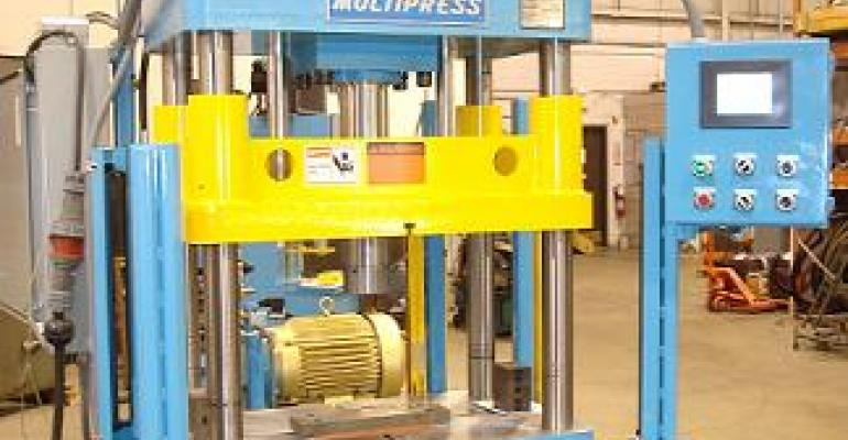 Deep-Draw Metal Forming Press Uses Hydraulic Motion Controller