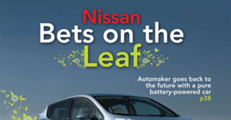 Nissan Bets on the Electric Car