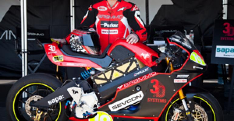 MPP Motor Powers Brammo Electric Race Bike