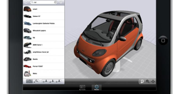 3DVIA Mobile HD Launches for iPad
