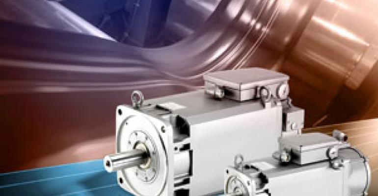 Siemen's New High-Performance Family of Spindle Motors
