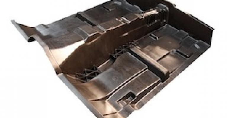 USCAR Wins Patent for Composite Floor Pan
