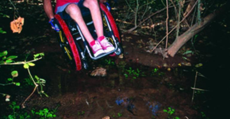 TiLite Races Ahead with Custom Wheelchair Design