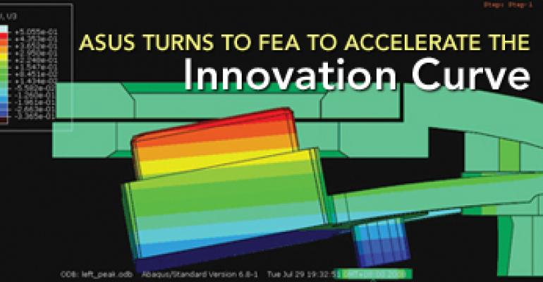 ASUS Turns to FEA to Accelerate the Innovation Curve