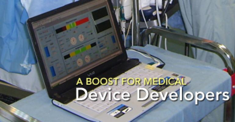 A Boost for Medical Device Developers