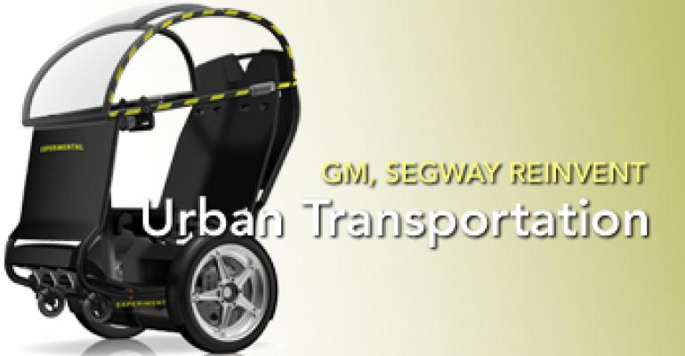 GM, Segway Join to Reinvent Urban Transportation with Project P.U.M.A.