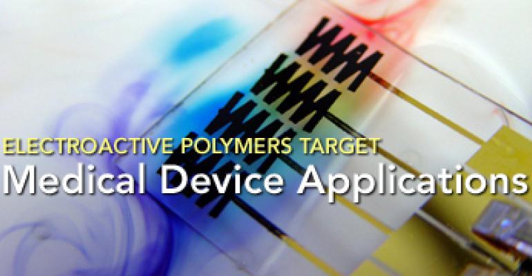 Electroactive Polymers Target Medical Device Applications