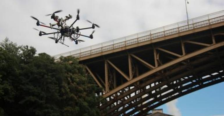 Flying Robot Will Check Out Building Health