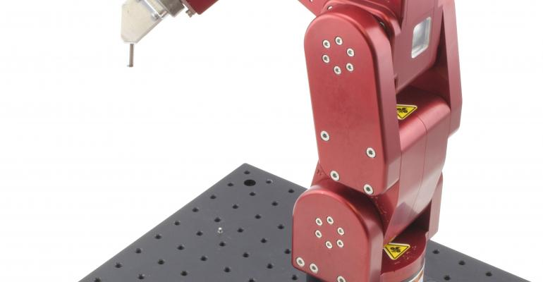 See Briefcase-Sized Six-Axis Robot at Medical Design & Manufacturing Show