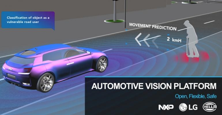 LG, NXP, Hella Team Up on New ADAS Vision System