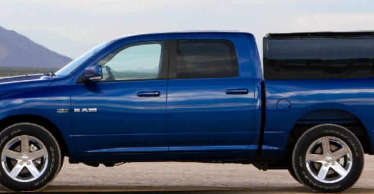 Lightweight Pickup Truck Cap Easily Converts to Flatbed Cover