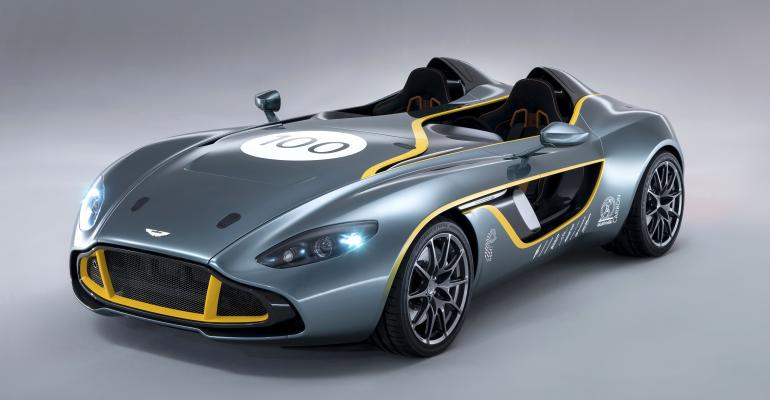 Aston Martin V12 Speedster Is Stripped To The Essentials