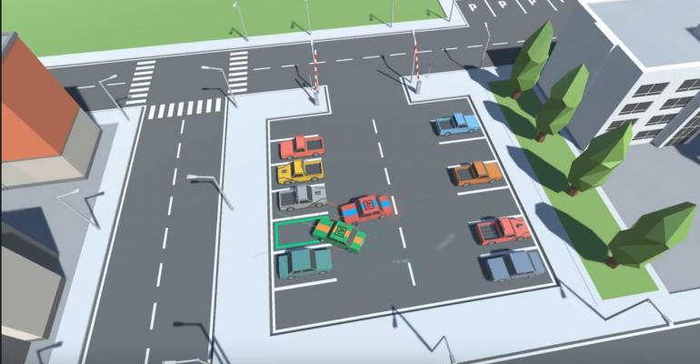 Friday Funny: AI Cars Fighting Over a Parking Spot