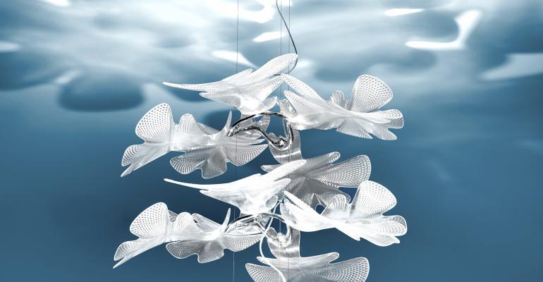 Plexiglas Casts this Artemide Lamp in a Favorable Light