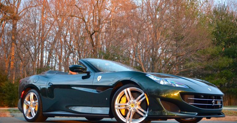Wearin' o' the Green: Ferrari Portofino Targets British Racing Green GT Rivals