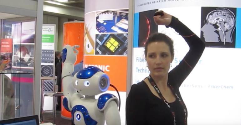 Fiber Optic Sensor Moves Robot In Near Real-Time