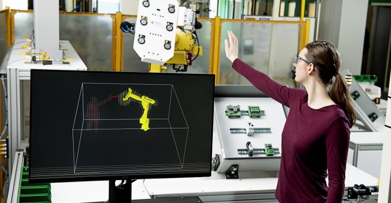 FreeMove turns any industrial robot into a cobot