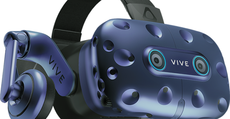 The HTC Vive Pro Eye Brings Eye Tracking to Engineers in VR