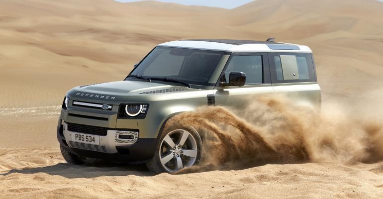 2020 Land Rover Defender -- modern technology over heritage
