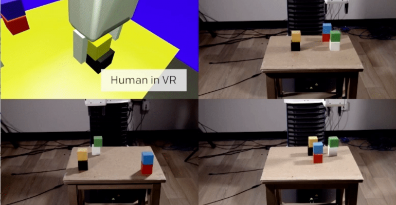 When You Train Robots With VR, You Only Have to Teach Them Once