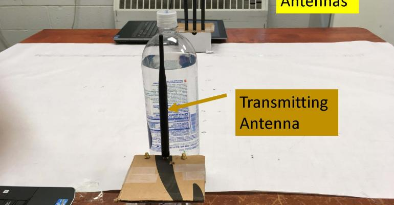 Detecting Bombs and Weapons with WiFi
