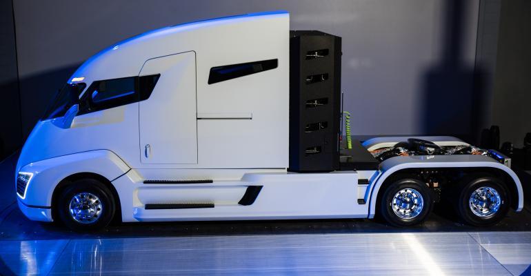 automotive, heavy-duty trucks, fuel cells, Telsa, Budweiser
