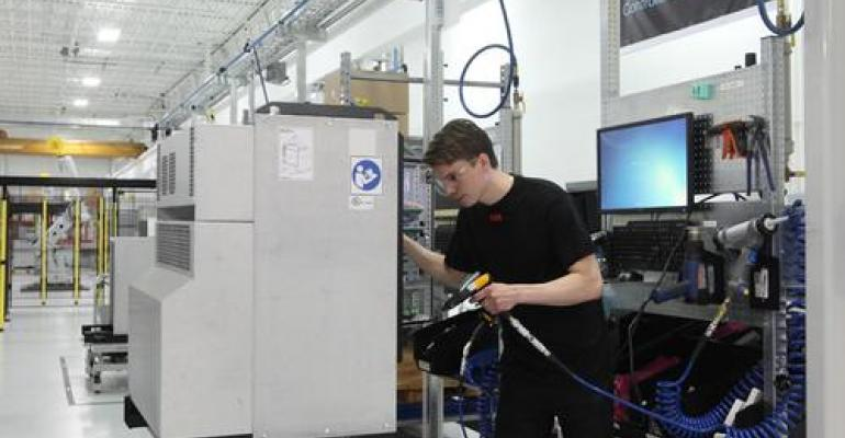 Made in the US Stamp on ABB Robots