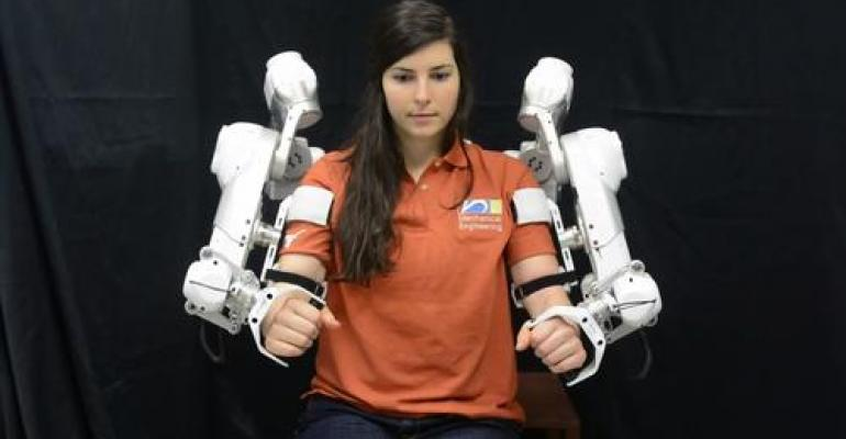 Mechatronics Helps Create 'Harmony' in Physical Therapy Robot