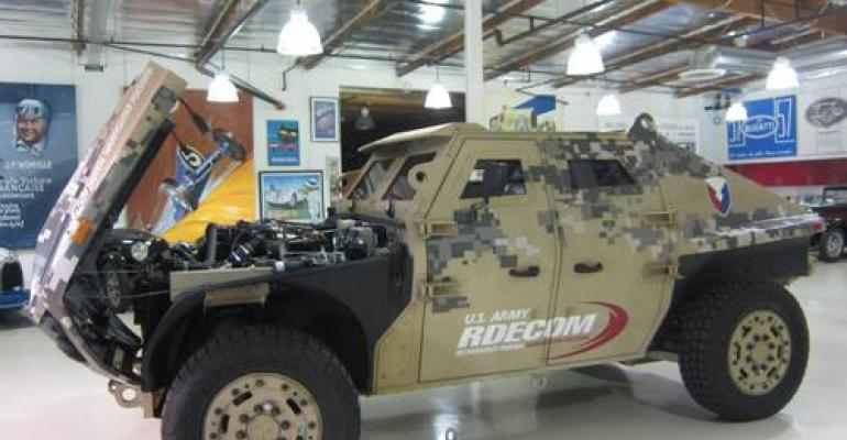 Aluminum Armor Plate Good Enough for Humvees
