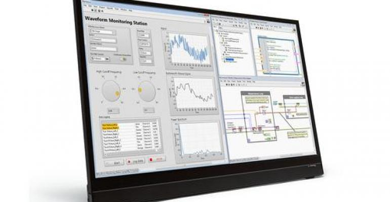 LabVIEW 2016 Adds New Channel, Ups NI's Investment in IIoT