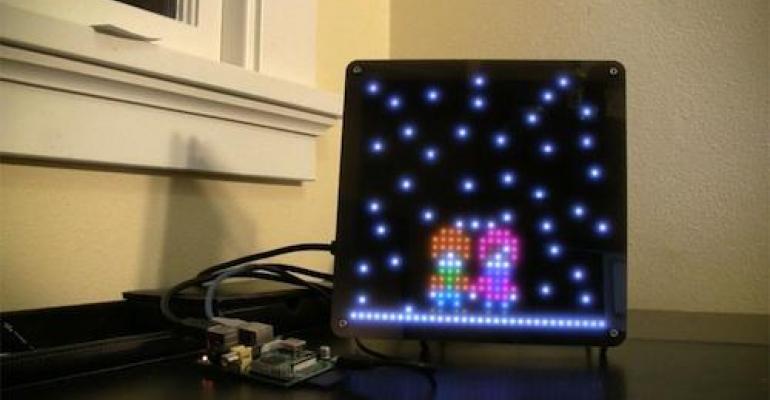 Gadget Freak Case #252: Animated Weather LED Display