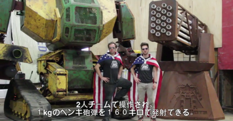 The US and Japan Will Fight in a Giant Robot Battle